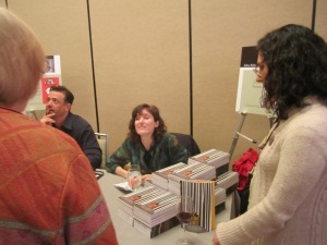 Book signing at Winter Institute 8